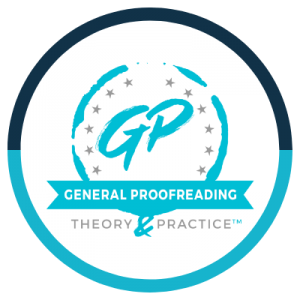 Proofreading Credential Badge
