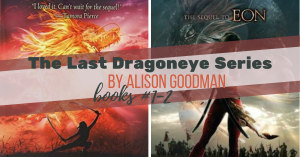 Series Report: The Last Dragoneye by Alison Goodman