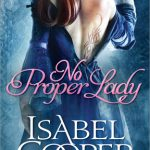 Book Cover No Proper Lady by Isabel Cooper