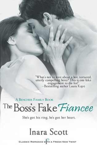 Mini Review: The Boss's Fake Fiancee (Bencher Family, #2) by Inara Scott