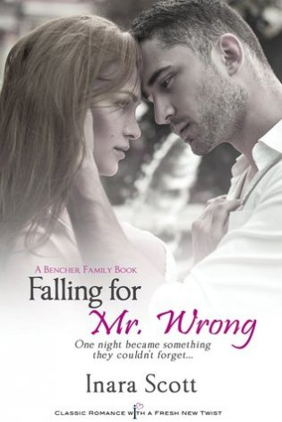 Mini Review: Falling For Mr. Wrong (Bencher Family, #3) by Inara Scott