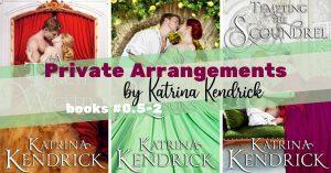 Series Report: Private Arrangements by Katina Kendrick